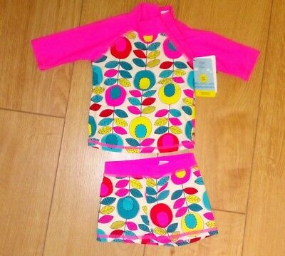 New Boots Mini Club Baby Girl 2 Piece Swimming Suit Age 3-6 Months