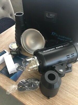 Flashpoint Rapid 600 HSS Monolight With Built-in R2