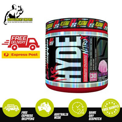 ProSupps Mr Hyde NITROX Pro Supps NITRO X Pre Workout Preworkout 30 Serves
