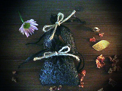 AMAZING WEALTH CASH ABUNDANCE SPELL HERB BAG Totem Medicine Rich Voodoo Ritual