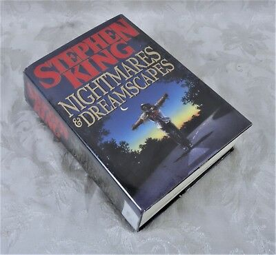 Hcdj Stephen King Nightmares Dreamscapes Viking Hardcover 1st