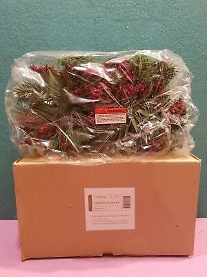 Longaberger Christmas Holiday Garland 23532 NEW IN BOX (MOM WAS HOSTESS)