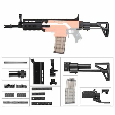 Worker Mod F10555 Adjustable Stock SCAR Barrel Combo 15 Items for Nerf STRYFE P5