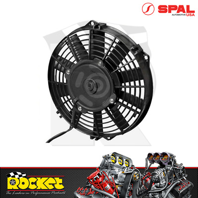 "Spal 14"" Electric Straight Blades Push Type Thermo Fan (1310CFM) - SPEF3548"