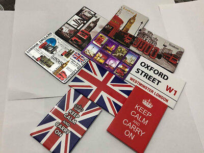 New London England Union Jack Fridge Magnets Souvenirs Gift Uk Seller Top
