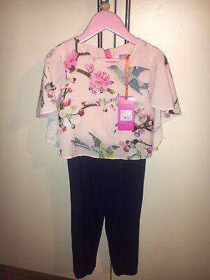 Ted Baker Girls Jumpsuit/Playsuit Aged 5-6 BNWT