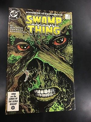 Swamp Thing #49 VG+-F; 9 Actual Pics; Ships Fast! 1st Justice League Dark; OBO