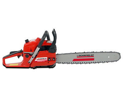 Petrol Chainsaw Fuel 62cc 20 inch Bar Tree Log Chain Saw Arborist Pruning Garden