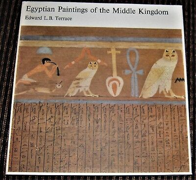 Ancient Egypt Art book EGYPTIAN PAINTINGS OF THE MIDDLE KINGDOM Djehutynakht