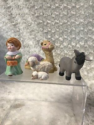 Avon Nativity collection Heavenly blessings The Holy Family Vintage 1986