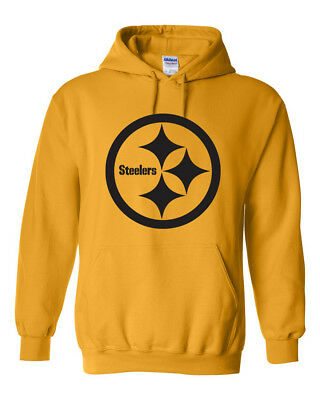 timeless design ce8d4 27c04 VINTAGE PITTSBURGH STEELERS Hoodie Sweater Retro Logo, Brand New item, old  stock