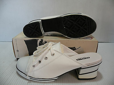 001c5c1aaa18 Converse All Star Hi Heeled Mule Sandal Vintage Women Shoes  9098 Size 5.5  New