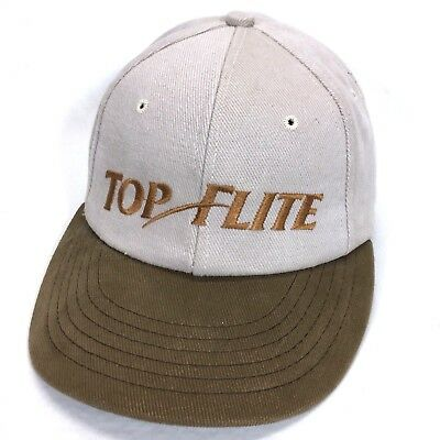 TOP FLITE Golf Balls   Equipment Embroidered Baseball Cap Dad Hat Lid Cover  c7 332fbc3dc80