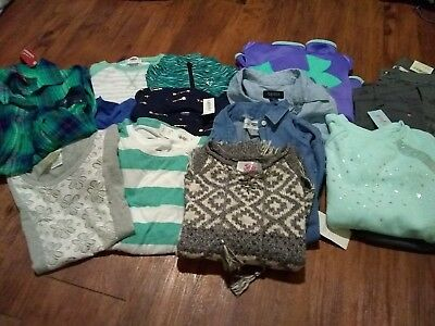 Girls Huge Winter Lot 6/7 8 Nwt Under Armour Justice The Buckle Old Navy Cat...