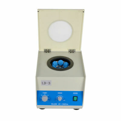 USED LD-3 6*50ml Electric Benchtop Centrifuge Lab Medical Practice 4000rpm