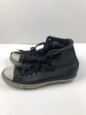 Converse All Star John Varvatos Sz 11 Leather In Great Condition