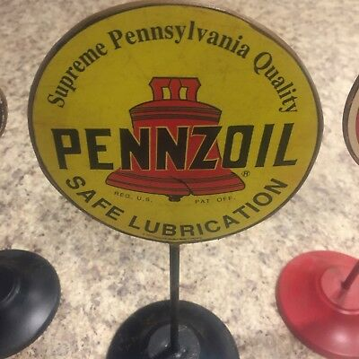 PENNZOIL-Classic Oil Stand Sign Decor-*NEW-HTF* Pennsylvania Quality-Oil & Gas