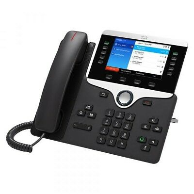 2 for 1  Cisco CP 8861 Phone Desktop Voip Telephone HiRes Co 2 units for $495