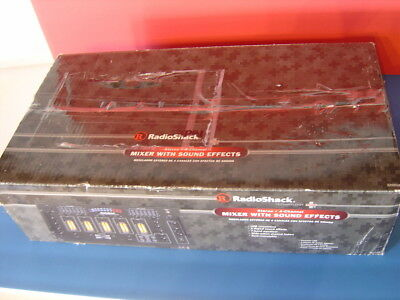 Radio Shack USB Stereo 4 Channel Stereo Mixer with Sound Effects New in Box
