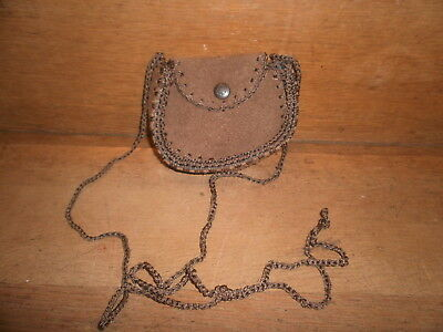 Leather Pouch , Stash  Bag