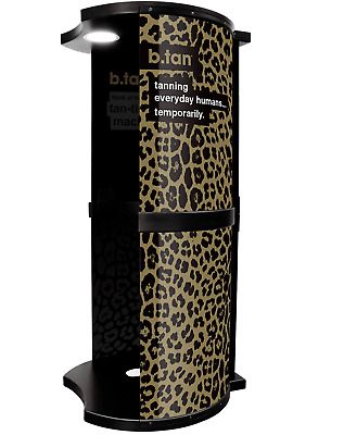b.tan - All In One Spray Tan Booth - Gold - Spray Tan Machine with Extraction