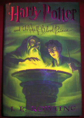 Harry Potter The Half Blood Prince First Printing First American Edition 7/ 2005