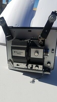 Vintage Bell & Howell Autoload 466B 8mm/Super 8 Movie Projector in original box!