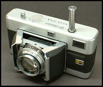 1953 fancy Voigtlander VITESSA 35mm mid-century modern camera!!