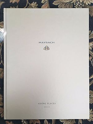Maybach Coffee Table Book Going Places 2009 RARE & HARD TO FIND! Over 100 Pages!