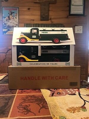2018 HESS TOY TRUCK 85th ANNIVERSARY COLLECTOR'S LIMITED EDITION SOLD OUT, Box 5
