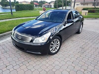 2008 Infiniti G35 JOURNY 2008 INFINITI G35 VERY LOW MILES 40K MILES BLACK/BLACK NO RESERVE !!!