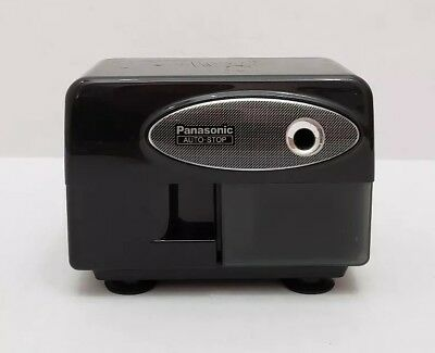 Panasonic Kp-310 Electric Pencil Sharpener Black W/ Suction Cup Feet