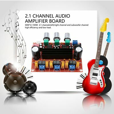 TPA3116D2 2x 50W+100W 2.1 Channel Digital Subwoofer Power Amplifier Board K6