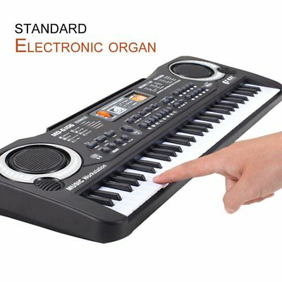 61 Keys Electronic Piano Keyboard With Microphone Children Musical Instrument P9