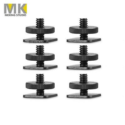 "6 Pcs Meking 1/4"" Tripod Screw To Camera Flash Hot Shoe Mount Adapter"
