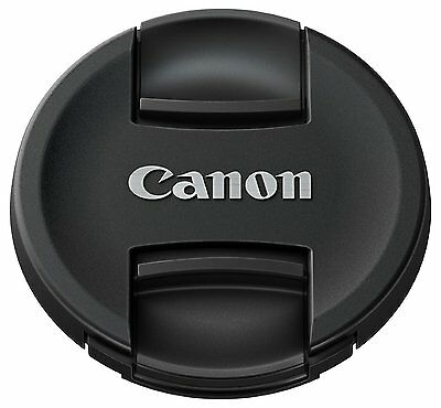 Genuine Canon E-55  55mm Front Lens Cap clip on Canon 55mm lens cap  UK STOCK