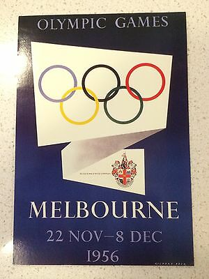 Australian 1956 Melbourne Olympics Postcard - Others Years Also Available