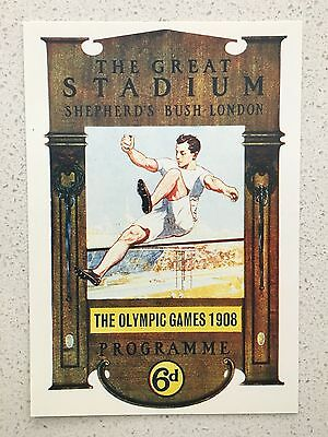 Fantastic 1908 London Olympics Postcard - Others Years Available From Aust.