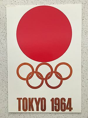 Fantastic 1964 Tokyo Olympics Postcard - Others Years Available From Australia