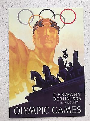 Fantastic 1936 Berlin Olympics Postcard - Others Years Available From Aust.