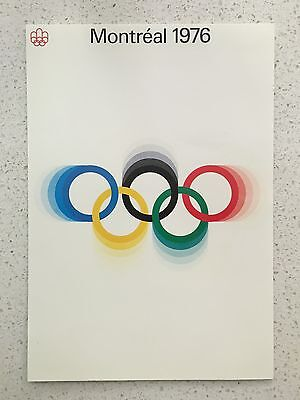 Fantastic 1976 Montreal Olympics Postcard - Others Years Available From Aust.