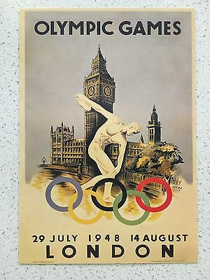 Fantastic 1948 London Olympics Postcard - Others Years Available From Aust.