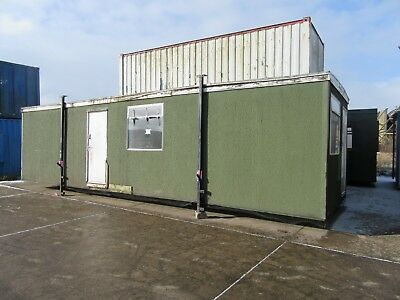 Portable Office, Portable Cabin, Site Office, Portable Building, 32 x 10 (1737)