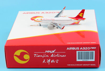 JC Wings 1:400 Tianjin Airlines Airbus A320NEO Diecast Aircraft Models B-8953