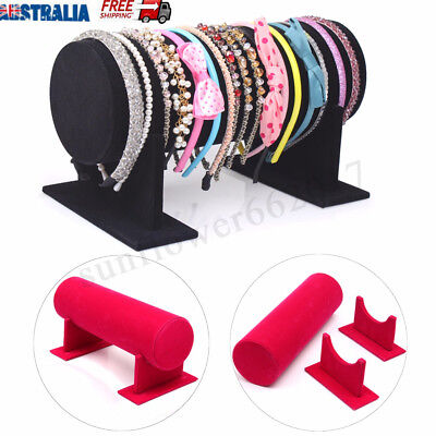 Velvet Hair Band Headband Holder Jewellery Display Stand Rack Organizer Holder