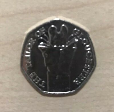 50p The Tailor of Gloucester Coins New Beatrix Potter 2018 Coin
