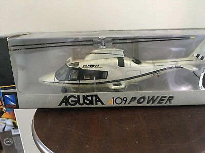 Agusta A109 Power Helicopter Die cast Model New-Ray Toys Agusta Westland AW109