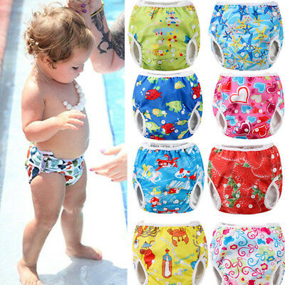 USA Adjustable Reusable Baby Product Pants Swim Diaper Waterproof Nappy Washable