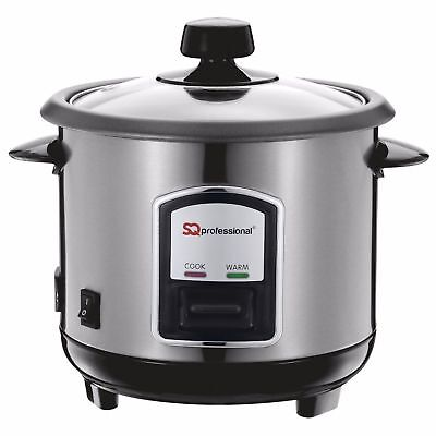 0.8L Non-Stick Automatic Electric Stainless Steel Rice Cooker Pot Warmmer 350W