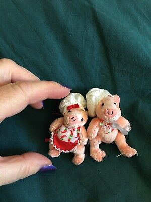Cute Miniature Pigs Furryville Cooks Collectible